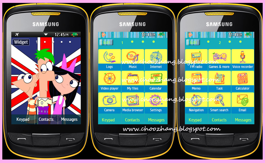 free download themes hp samsung