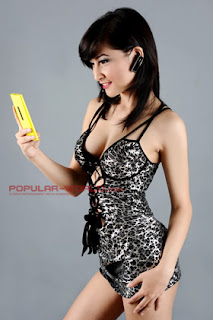 Ocha Sahara Model Majalah Popular Babes From Net Season 2, Juli 2013