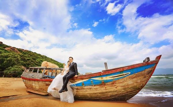 Chụp Ảnh Cưới Đẹp Và Lãng Mạng Tại Biển Nha Trang