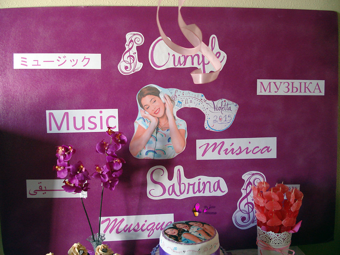 cumple, cumpleaños, cumpleaños temático, violetta, fiesta, fiesta temática, cumpleaños de violetta, cumpleaños temático de violetta,