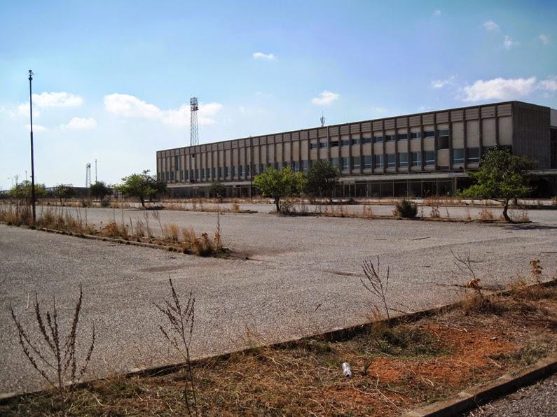 Nicosia Airport Abandoned