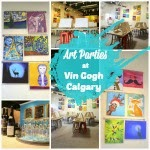 Art Parties in Calgary at Vin Gogh
