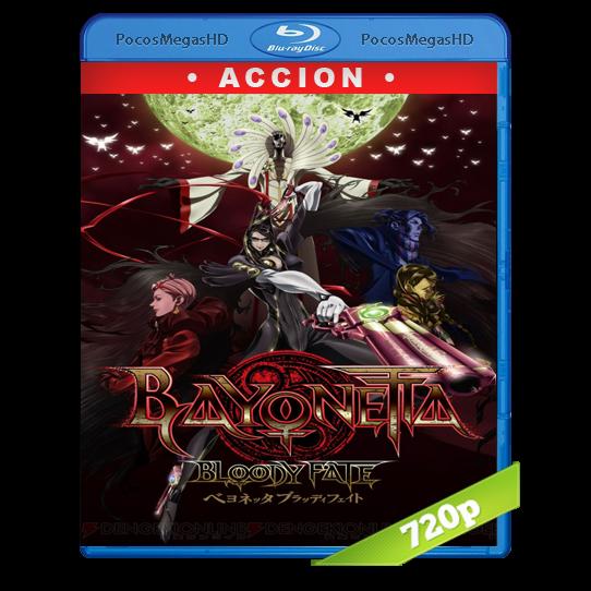 Bayonetta: Bloody Fate (2013) BrRip 720p Japonés AAC+subs aparte