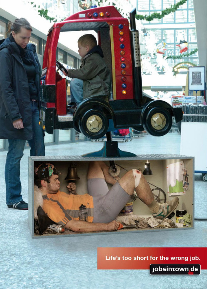 Campaña publicitaria trabajo temporal