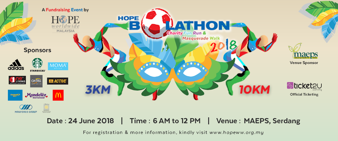 BOLATHON Charity Fun Run and Masquerade Walk 2018