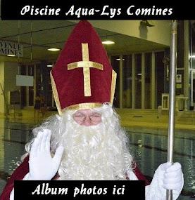 Saint Nicolas à la piscine Aqua-Lys
