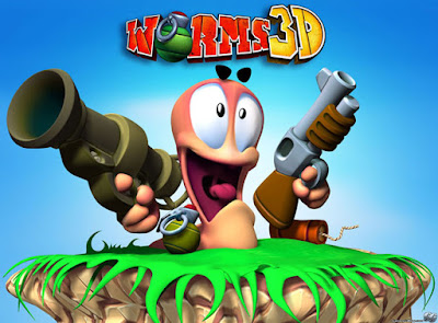 Game Worm 3D cover