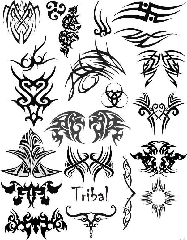 de todo para todos significado de los tatuajes tribales. Black Bedroom Furniture Sets. Home Design Ideas