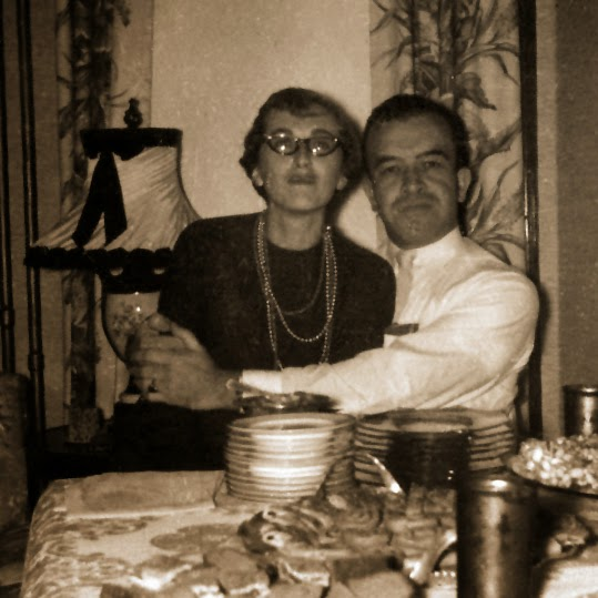 Ben Shuman and Marion Rubin 1954 in Sioux City Iowa