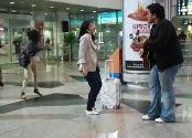 Malaysia Airlines Flashmob Di KLIA