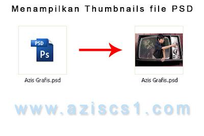 Cara Menampilkan Thumbnail File Psd Di Explorer