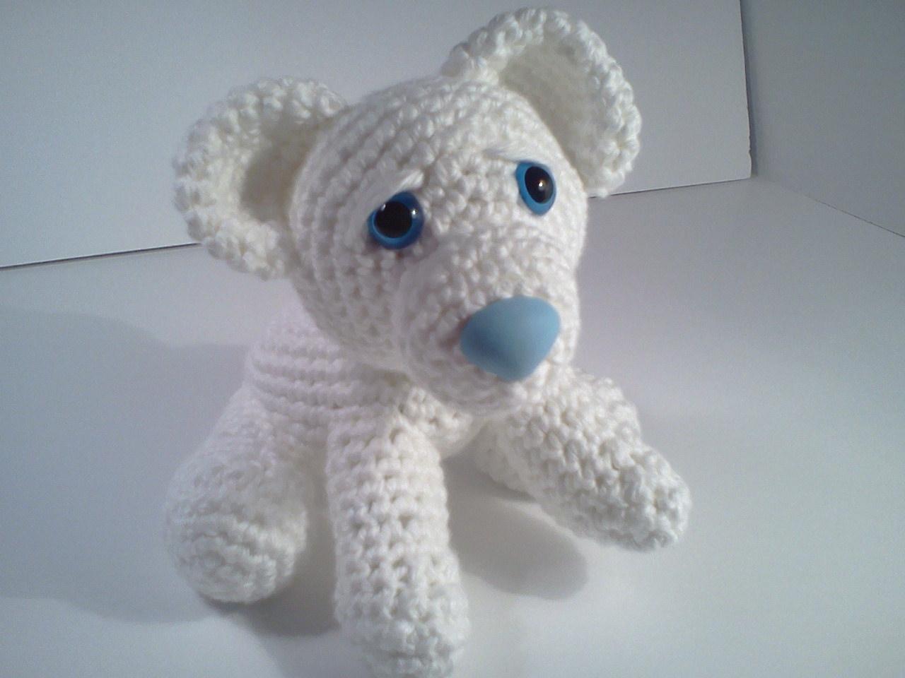 Stuffed Polar Bear Pattern Download free pdf pattern