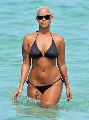 Amber Rose Bikini