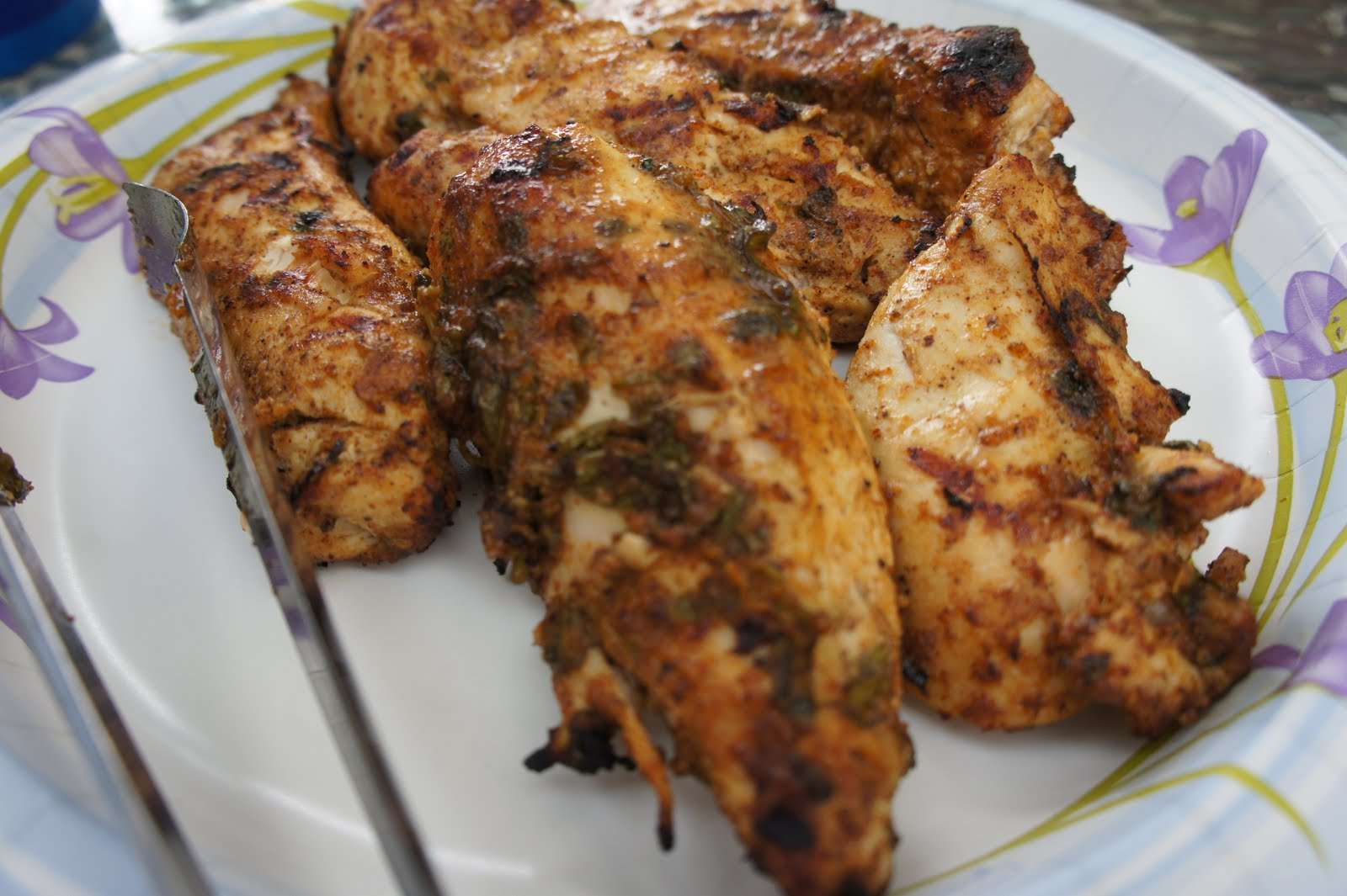 Kicking carbs to the curb low carb grilled chicken indian style low carb grilled chicken indian style forumfinder Gallery