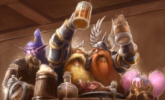 Hunters Drinking Tavern Warcraft Wow