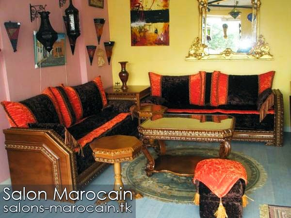 Salon marocain moderne impressionnant 2014