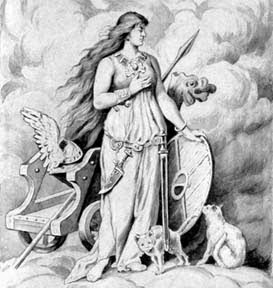 2014 Festival of the Goddess: Honoring Freyja & the Blood Mysteries