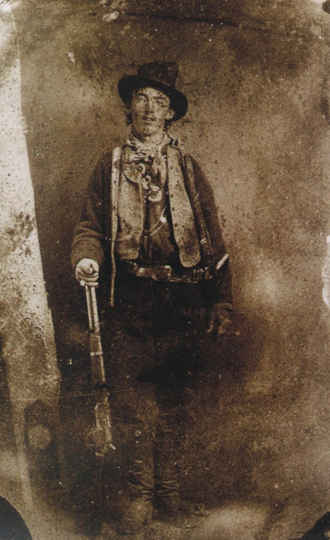 The only known picture of Billy the Kid. 1879