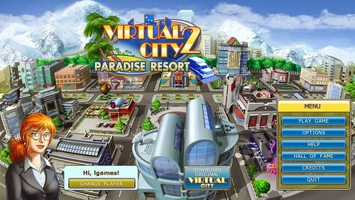 paradise city games for free
