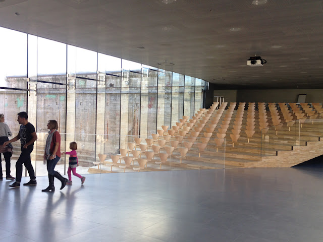 The auditorium at the Maritime Museum of Denmark by Bjarke Ingels Group