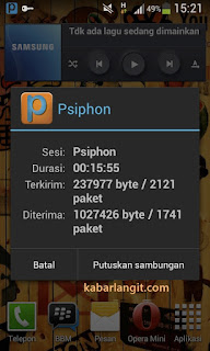 Trik Internet Unlimited Gratis di PC dengan psiphon Tanpa Menggunakan SSH