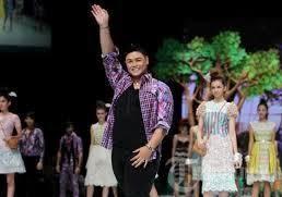 Batik Rancangan Ivan Gunawan
