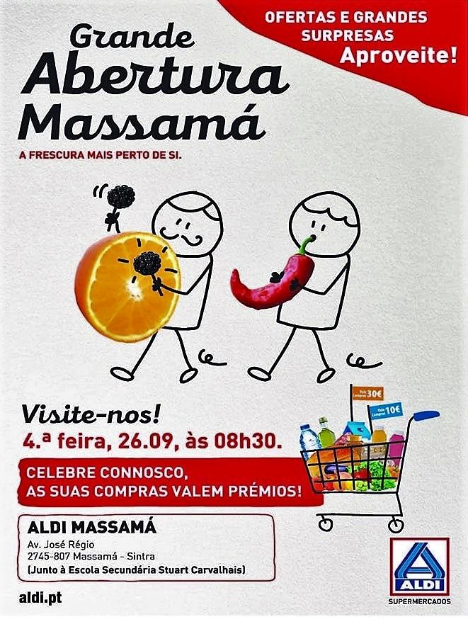 26 de setembro, 8h30: LIDL Massamá