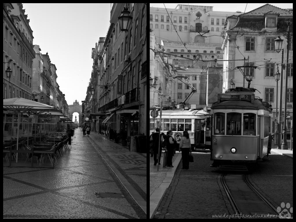 Baixa en Lisboa