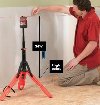 Renovatingbathroom on Kitchen And Bathroom Renovation  How To Prepare Kitchen Walls 02