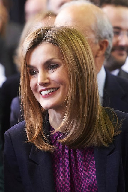 Queen Letizia attends the National Paraplegics Hospital