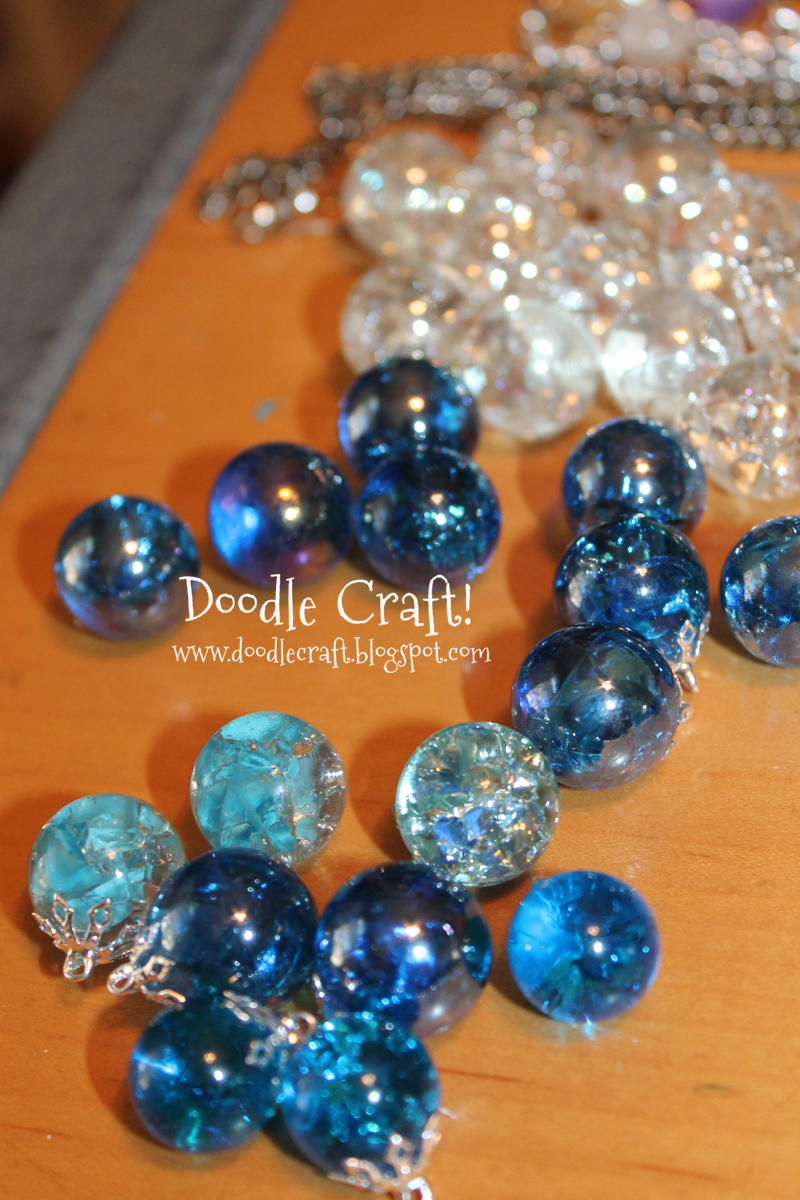 Doodlecraft ombre marble necklace for How to make marble jewelry