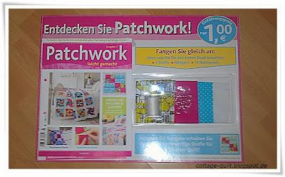 cottage quilt sammelreihe patchwork leicht gemacht ausgabe 1. Black Bedroom Furniture Sets. Home Design Ideas