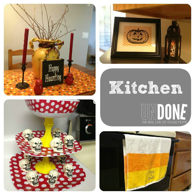 UNDONE: Halloween Decor in the Kitchen