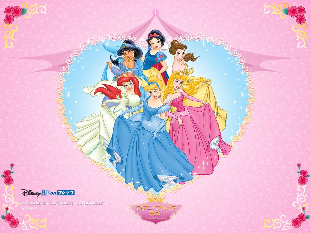 Pretty Disney Princess Free Printable Frames, Images or ...