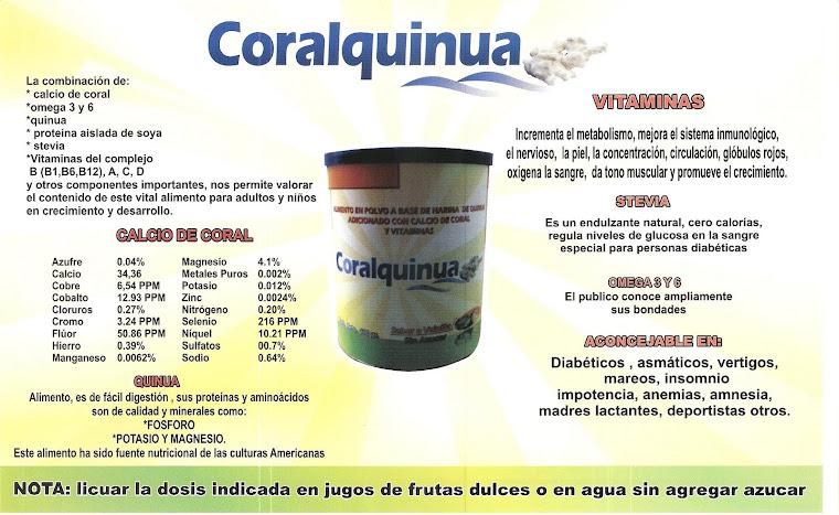 CALCIO DE CORAL EN POLVO - CORALQUINUA