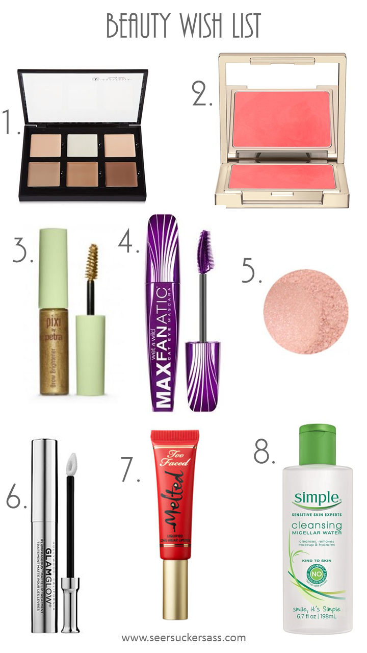 Beauty Wish List