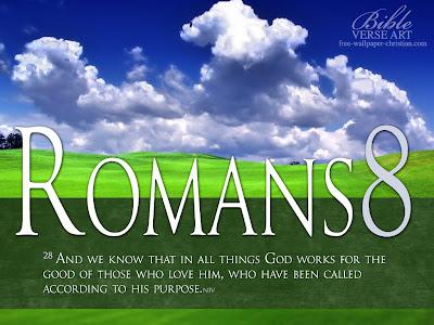 Romans 8:28 Faith Bible Verse