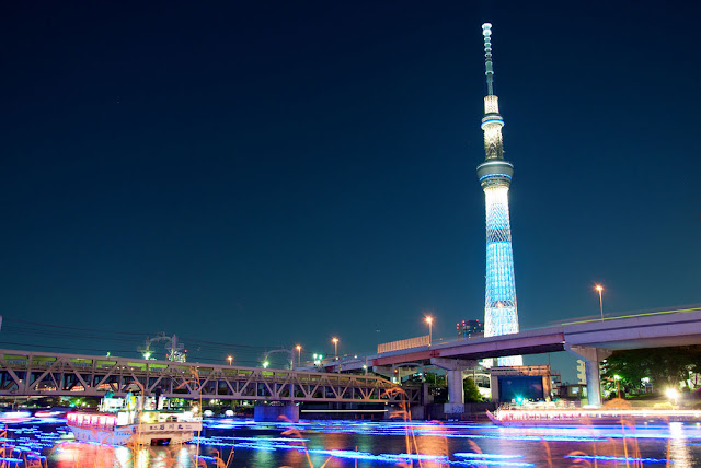 Tokyo Skytree Town Winter Festival Light Art Entertainment 2012