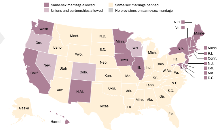 federalism and gay marriage By targeting catholic social services, philadelphia is taking the us supreme court's flawed logic on same-sex marriage to its logical conclusion.