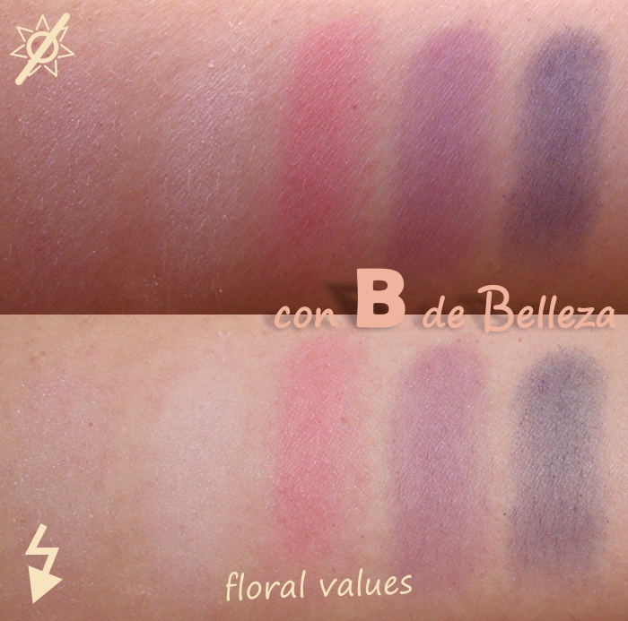 Swatches Floral values