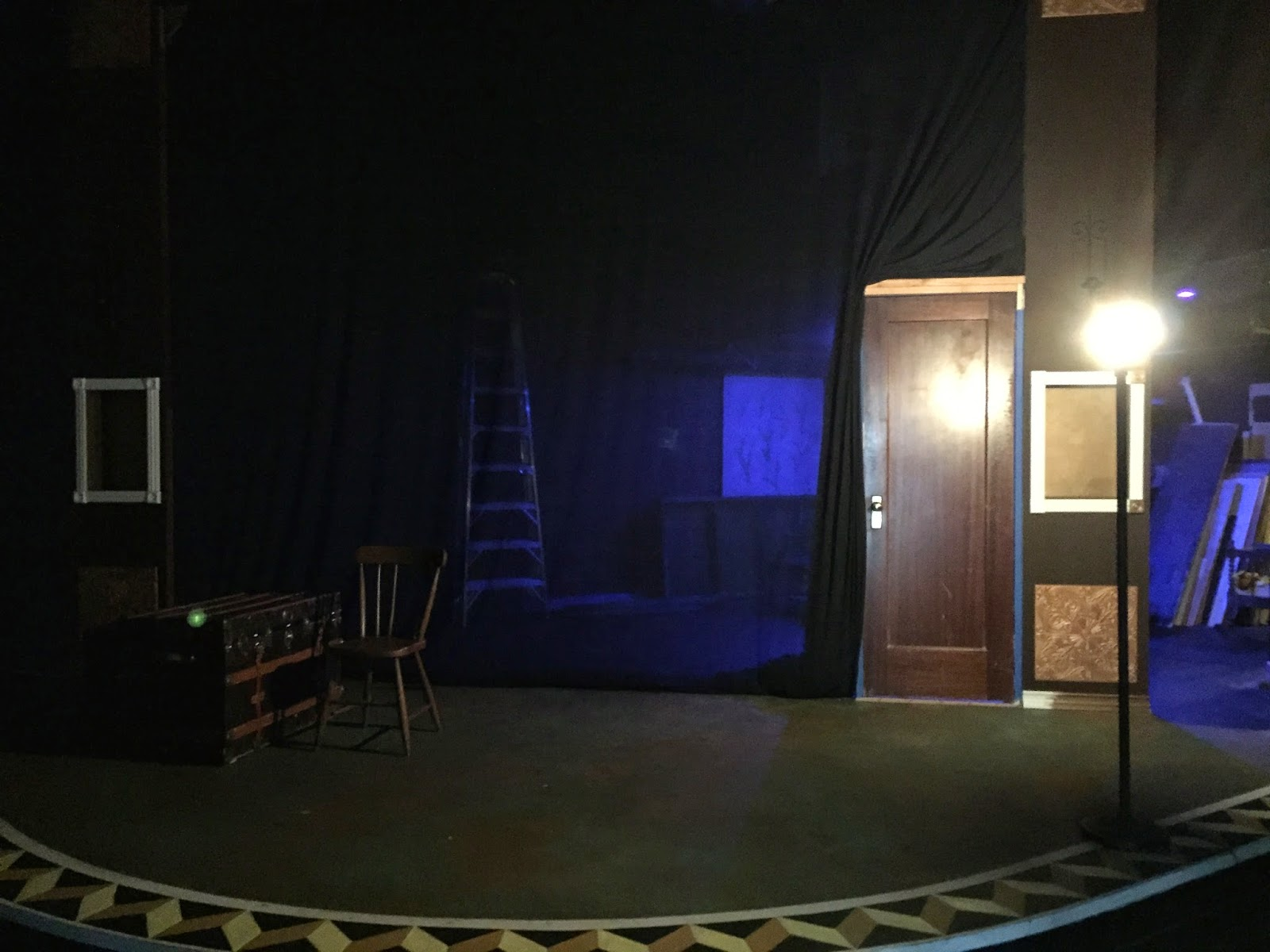 The Dragon Theatre Ghost Light In Action