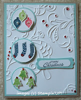 Card made with Stampin'UP! stamp set: Merry Minis
