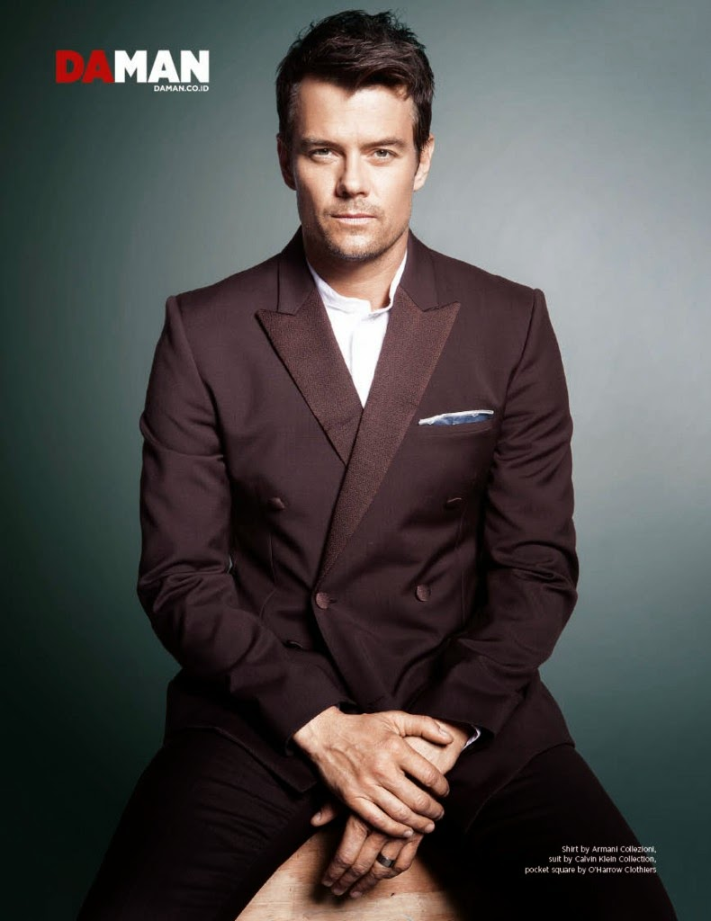 Josh Duhamel - DA MAN Magazine February/March 2015 Josh Duhamel