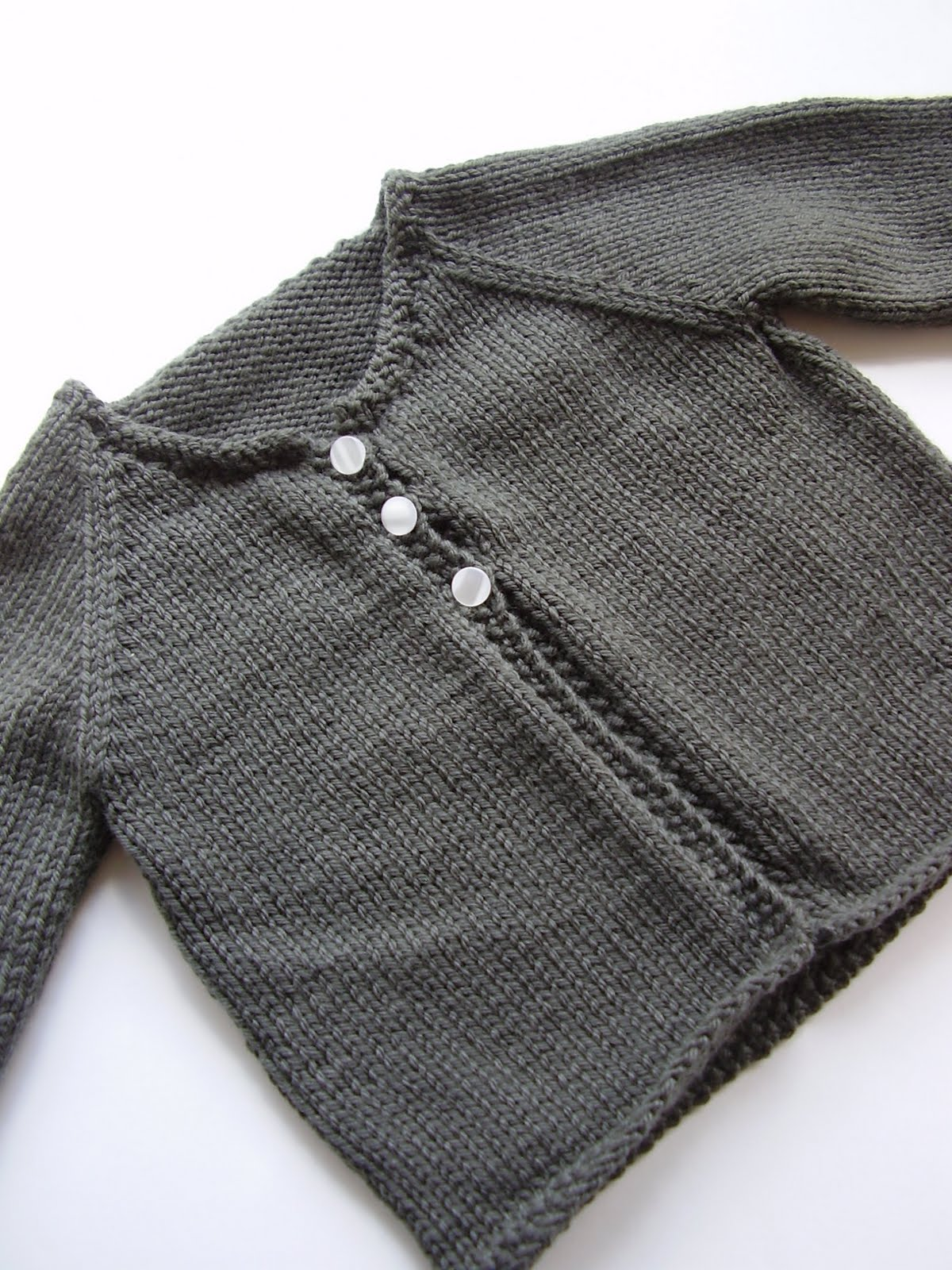 Baby Boom; finished knits