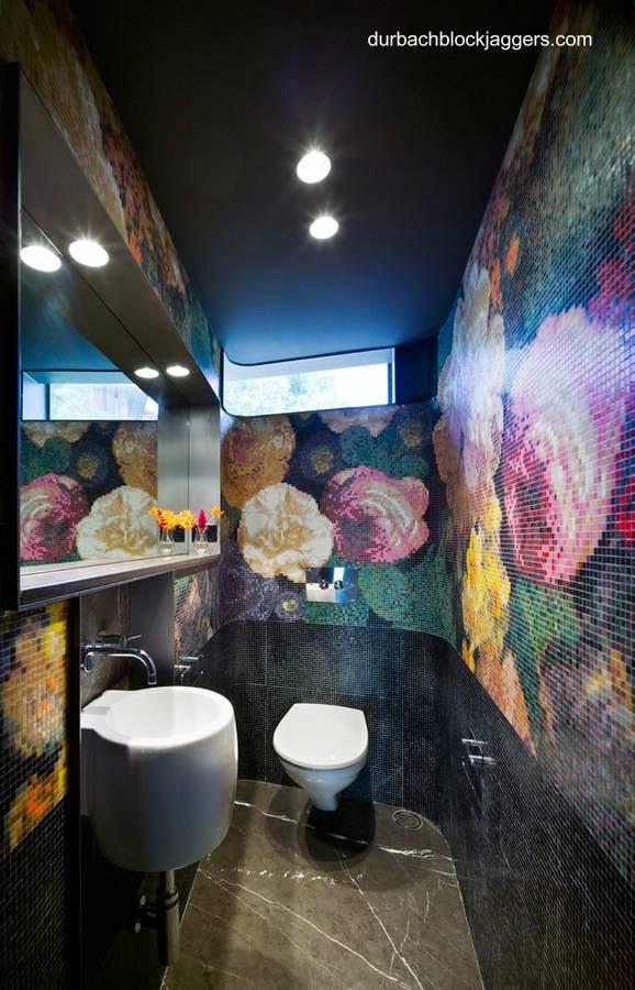 Baño de una residencia contemporánea australiana