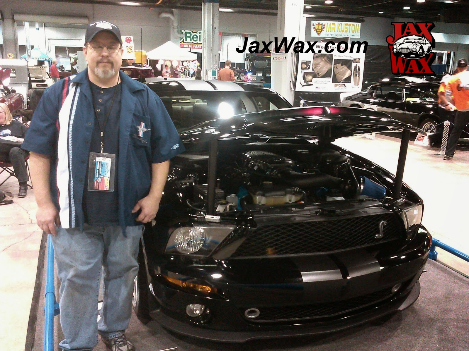 2009 Ford Mustang GT Jax Wax Customer Chicago World of Wheels