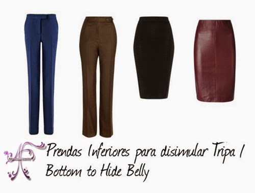 Clothes to hide belly