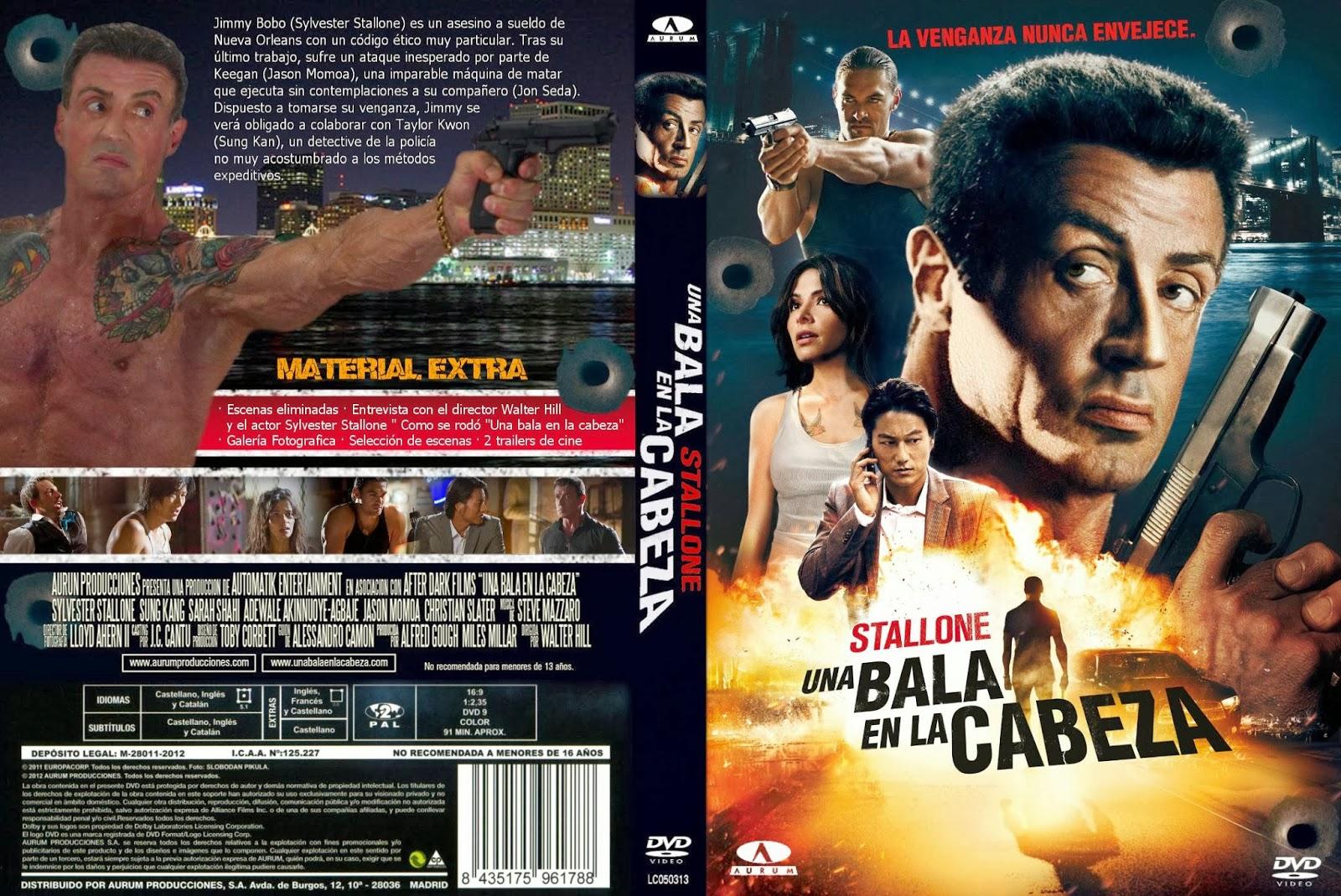 Una Bala En La Cabeza DVD
