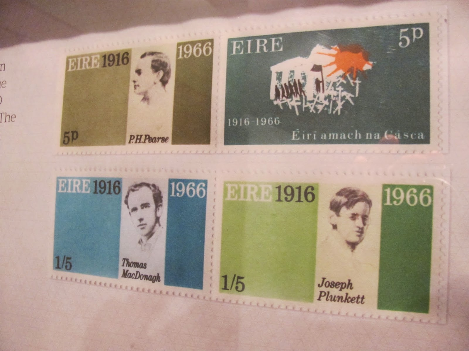 Ireland's 1916 Easter Rising 50-Year Anniversary Stamp Design