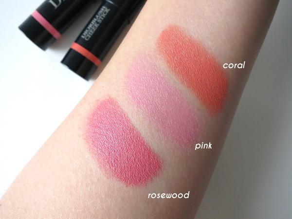 Dior fall 2015 Cosmopolite limited edition: Diorblush Cheek Stick swatches